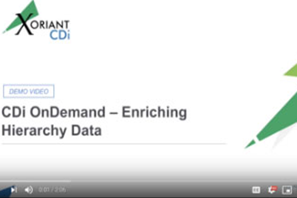 CDi OnDemand – Enriching Hierarchy Data